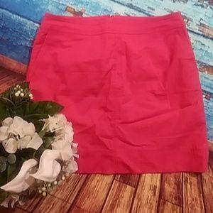 Talbots Petite Coral Skirt 14 petite